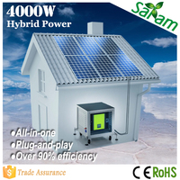 4000W solar energy product for home use
