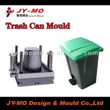 HDPE trash can mould, plastic mould