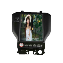 Quad core android 6.0 in dash car stereo heat units with Touch screen car dvd for Mustang