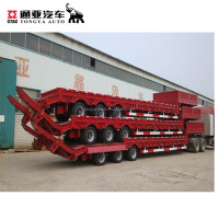 Excavator Transport Gooseneck Lowboy And Lowbed
