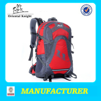 The Best Travel Popular Made In China Nylon Unisex Red Outdoor backpack