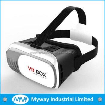 2016 New design Virtual Reality headset vr box 3D Glasses with for 4.5~6..0 Inch Screen Smartphone