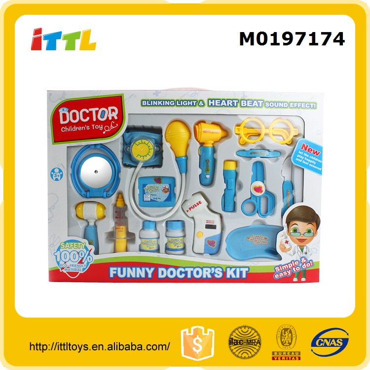 New Arrival! pretend play doctor set doctor toys high quality toy doctor kit