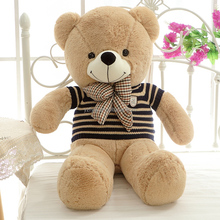 2017 teddy bear plush big teddy bear 80cm,100cm,120cm, 140cm, 160cm