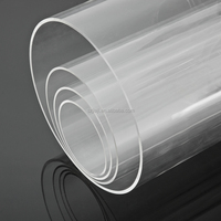 large diameter acrylic tube/clear acrylic tube