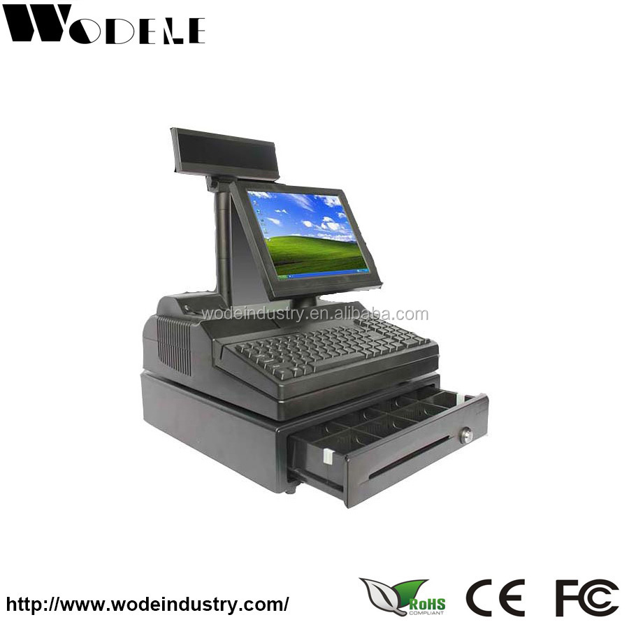 electronic cash register WD-9000E tills for sale cheap pos cash register