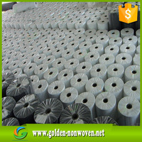 White black color polypropylene pp non woven anti weed non-woven fabric roll factory ,raw material for mattress spring pocket