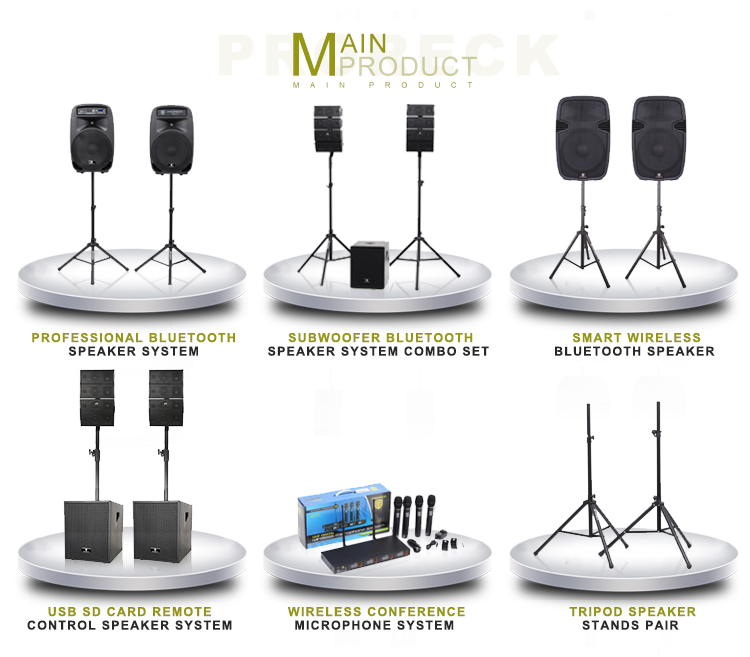 Alta qualidade 4 Canal sistema de microfone da conferência sem fio profissional com 4 microfones de mão