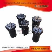 High quality durable rock drill button bits from China famous supplier