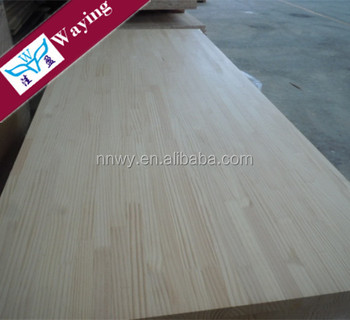 Birch FJL board/Pine finger jointed panel for home decoration for sale