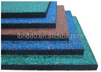 5mm thick durable fitness equipment rubber mats, protecting equipments and floor, absorbing vibration and sound