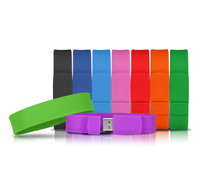 High quality USB bracelet flash drive silicone wristband