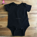 Wholesale newborn baby cotton clothes plain carter's infant knit romper baby