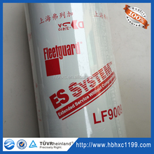 Favorable prices Auto engine oil filter For truck excavator LF9009