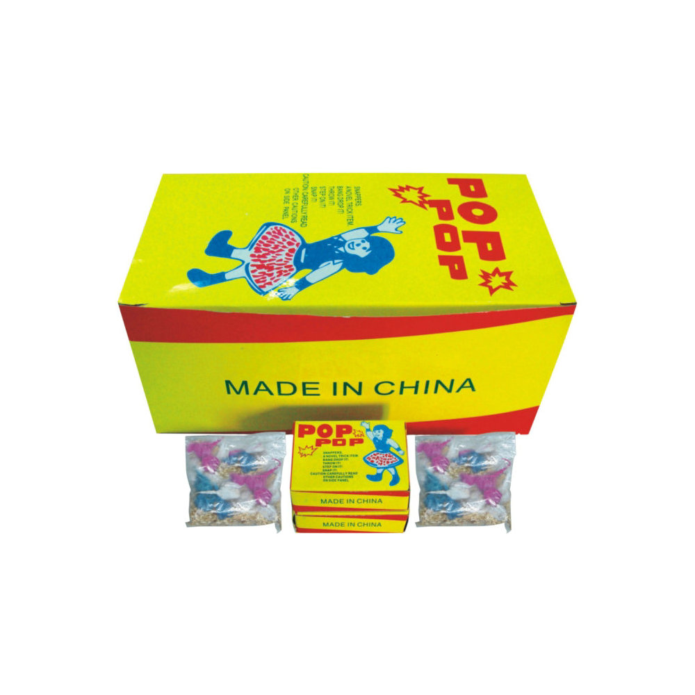 Wholesale factory direct throw fireworks snap T8500 toy snapper pop pops fireworks