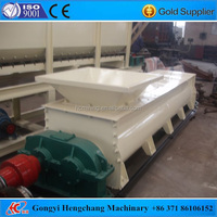 Necessary mixing machine dual shaft paddle mixer for briquetting line