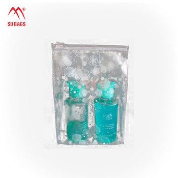 Chinese manufacturer custom Top quality transparent Waterproof mini clear pvc cosmetic bag