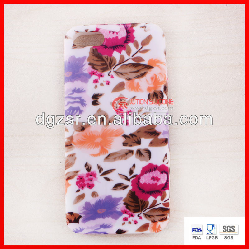 new items silicone phone case for iPhone4s