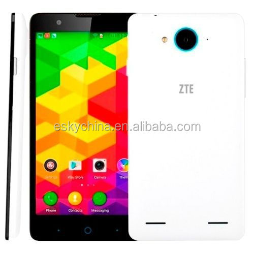 ZTE V5S LTE N918St 4G FDD LTE Smartphone Quad Core MSM8916 64bit Android 4.4 Mobile Phone 5.0 Inch 1GB RAM 8GB ROM 8MP Dual Sim
