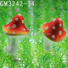 cheap glass hunging mushroom for decoration
