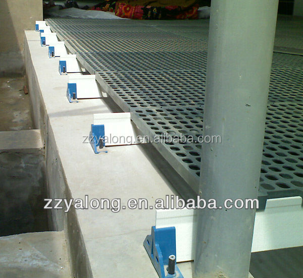 poultry equipment manufacturer, specialized in producing fiberglass floor beams