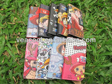Cute Cartoon PU Flip leather case cover with stand for Samsung Galaxy S3 i9300