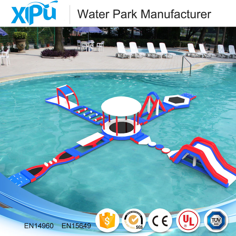 2017 new designed outdoor inflatable amusement water park for sale