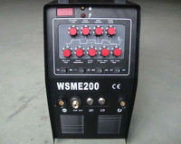 Brand new CE Inverter AC/DC Pulse TIG MMA inverter welding machine welder WSME200