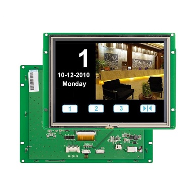 8 inch LCD monitor with USB / TTL for industrial control