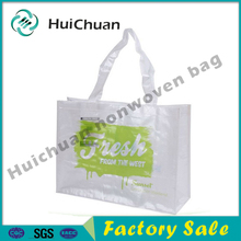 reusable recyclable laminated pp woven shpping bag