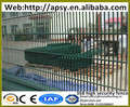 Hot sale high security barriers solid H post supported 4mm steel wire welded thin than finges grills mesh fence panels