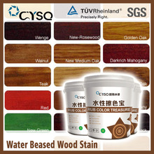 CYSQ water based wood stain colors