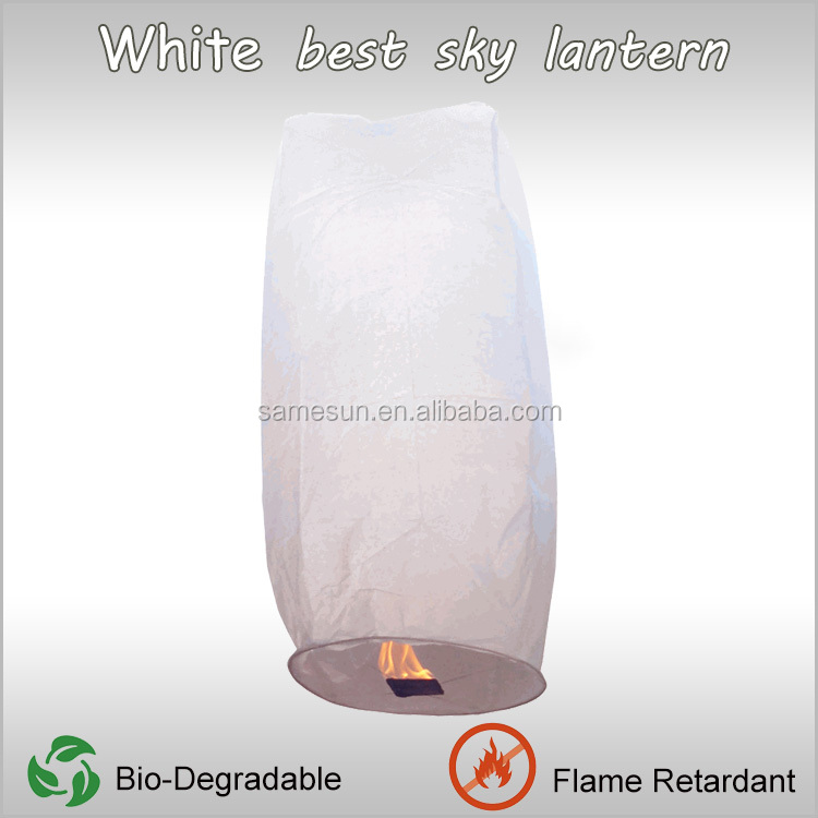 Chinese Cylinder Flying Paper Lanterns