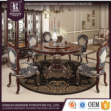 Customize antique french provincial dining room furniture set / Wooden dining table set for dining room