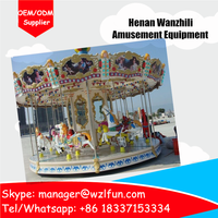 children carousel, christmas carousel decoration, game machine
