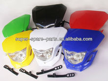 Many color mini dirt bike 70cc headlight