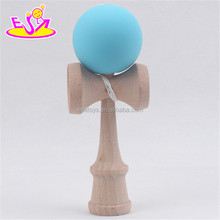 wholesale cheap wooden kendama toy, top fashion children wooden kendama toy W01A045