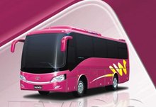 GDW6900K tourist used travel midi bus/coach for sale