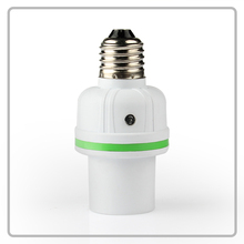Sound and light activated 100W motion sensor electric lamp holder
