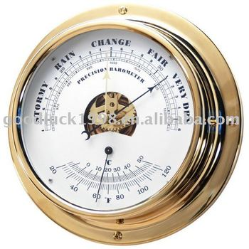 Nautical Barometer & Thermometer
