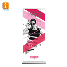 Size Customized Roll Up Banner Advertising Aluminum Pole