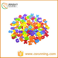 colorful eva foam letter and number for kids education