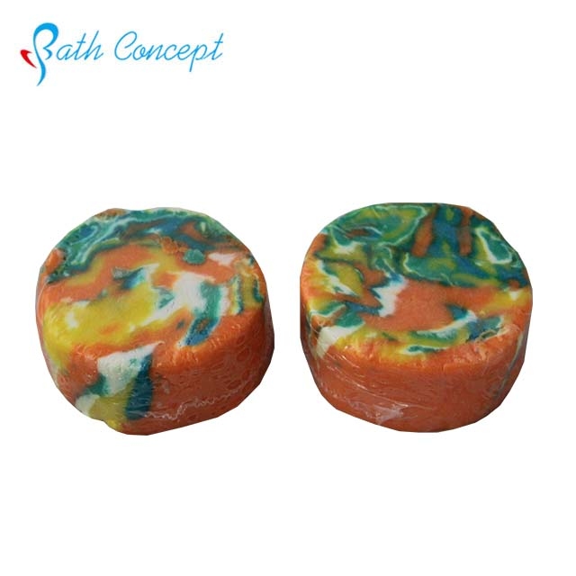 Antiseptic natural handmade colorful different shape bath soap