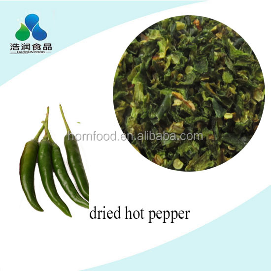 HACCP fresh dried green hot chili pepper