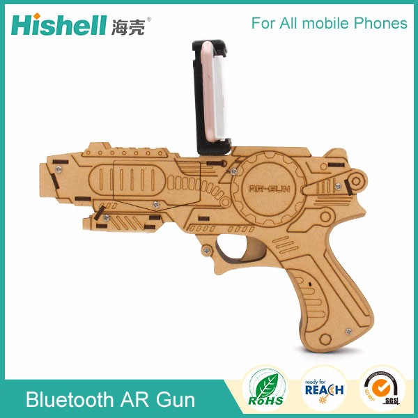 New Wireless Joy Stick Bluetooth AR Gun for mobile phone