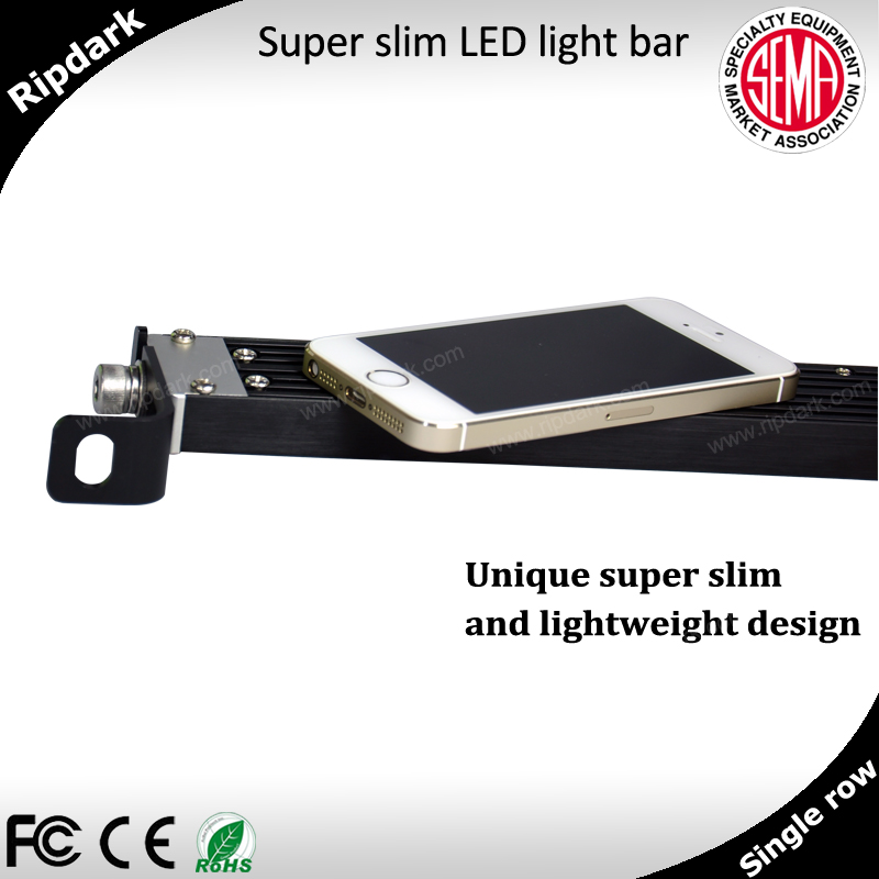 Unique super thin car roof LED light bar for offroad