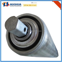galvanized or stainless steel gravity seal conveyor roller