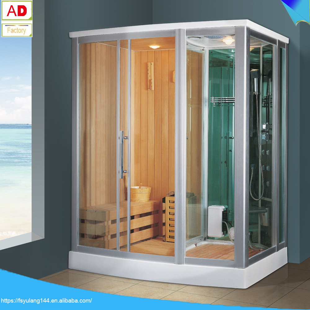 AD-88531 Dry and Wet Sauna Steam Dome Steam Room Rectangle steam machine for sauna