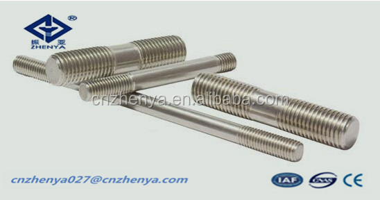 stud bolt a193 b7 a194 2h double ended threaded stud