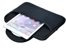 Universal Impact Resistant Handle Tablet Sleeve Neoprene Zipper Case Pouch for Ipad2/3/4Ipad Air Tablets up to 10.1 Inchs